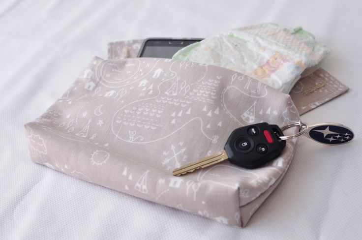 Ergo 360 sleek zipper pouch / purse / pocket / bag - Adventure map by mamietam on Etsy https://www.etsy.com/ca/listing/386793990/ergo-360-sleek-zipper-pouch-purse-pocket