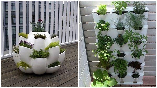 20+1 stupendi idee di giardinaggio sul balcone