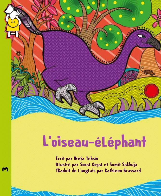 L'oiseau-éléphant est le dernier spécimen de son espèce. Le jour où un cheval disparaît au village, Monia n'a qu'une idée, faire en sorte que l'oiseau-éléphant ne soit pas accusé de l'avoir dévoré!