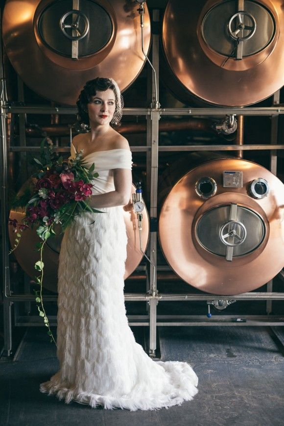 I Do By Order Of The Peaky Blinders A 1920s Styled Bridal Shoot