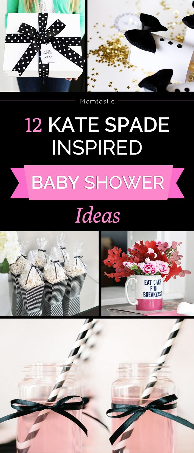 Most baby showers are hosted right around lunch time which can leave - 12 Ideas For A Kate Spade Inspired Baby Shower