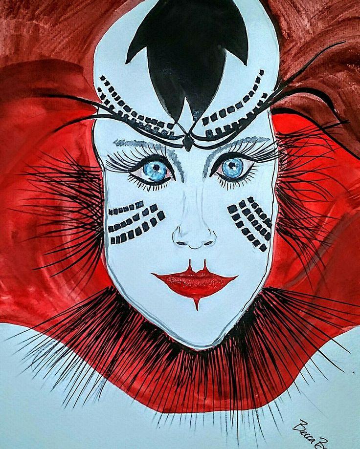 #334of365 #31togo #OVO #cirque #talent #explosion #DCOTA # networking #miamidesigners #miamidecorators #kidmurals #bigkidmurals #paintingquickieaday #muralsbybeccacom #71317