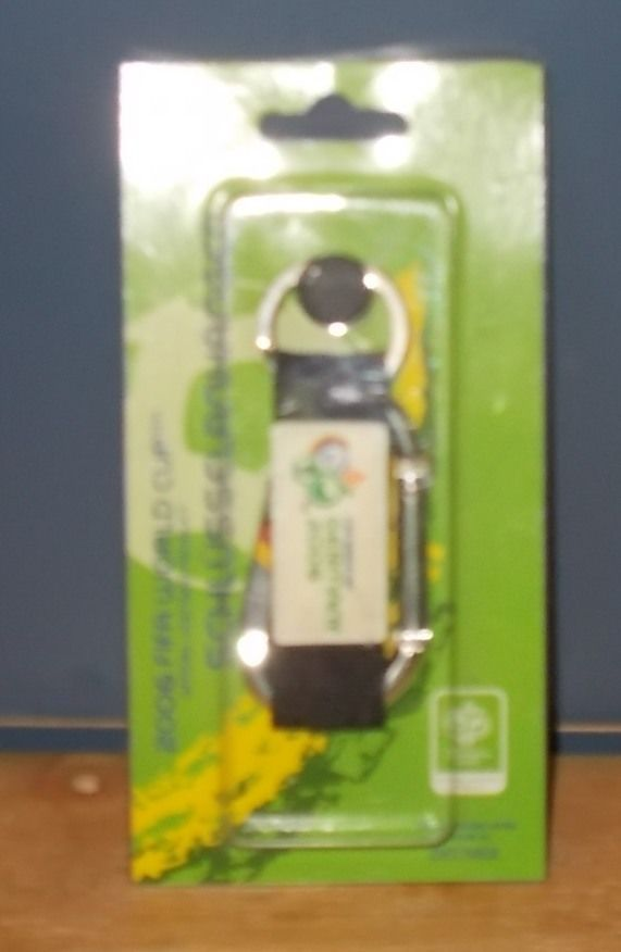 FIFA 2006 World Cup Germany Carabiner Tag Keyring Keychain Fob Green  | eBay