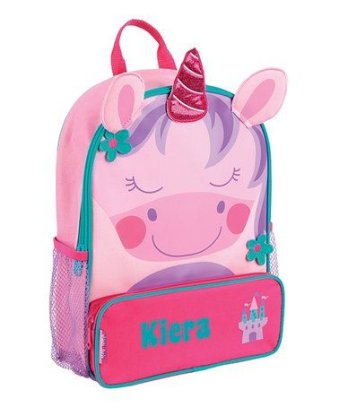 Look what I found on #zulily! Unicorn Personalized Backpack #zulilyfinds