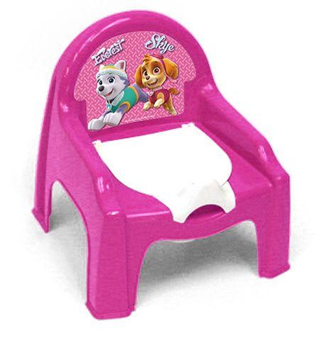 SILLA ORINAL PAW PATROL ROSA ( PATRULLA CANINA ROSA, EVEREST Y SKYE). PW9913, IndalChess.com Tienda de juguetes online y juegos de jardin