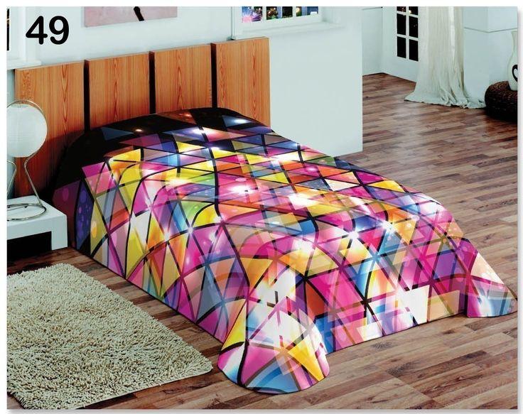 Disco koce 3D do sypialni różowe
