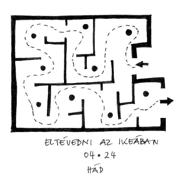 Eltévedni az IKEÁ-ban - Getting lost in IKEA