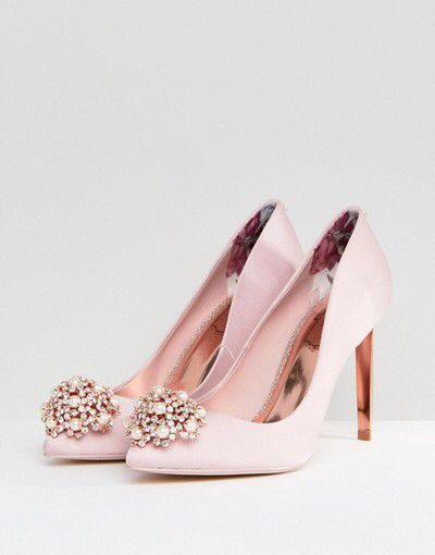 6b4d6b4cf81 The pretties pink shoes ever 😍 Ted Baker Peetch Light Pink Embellished  Shoes U  263