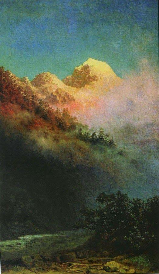 Архип Куинджи. Восход солнца. 1890-1895