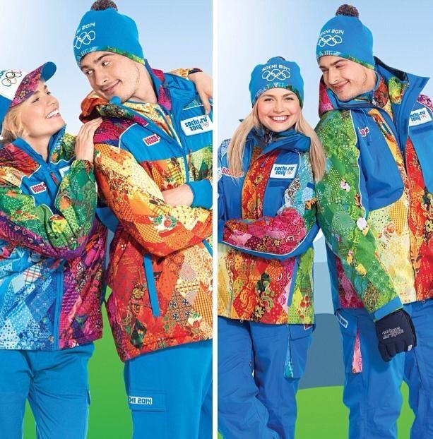 Uniforme oficial de voluntarios y staff Juegos Olímpicos de Invierno 2014