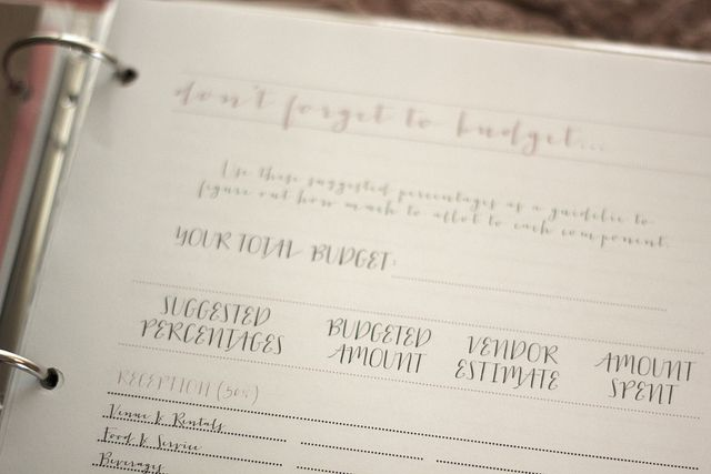 Free Wedding Planner Printables & Organizational Print Outs- Love for budgeting, guest list organization, & thank you cards especially!