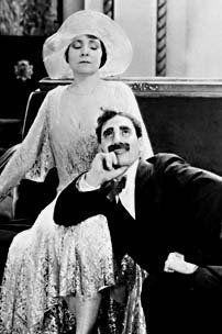 Margaret Dumont & Groucho....classic