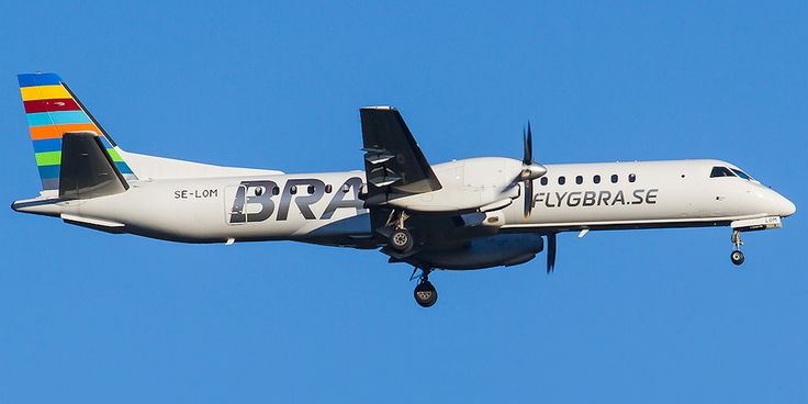 Saab 2000 авиакомпании Braathens Regional Airways