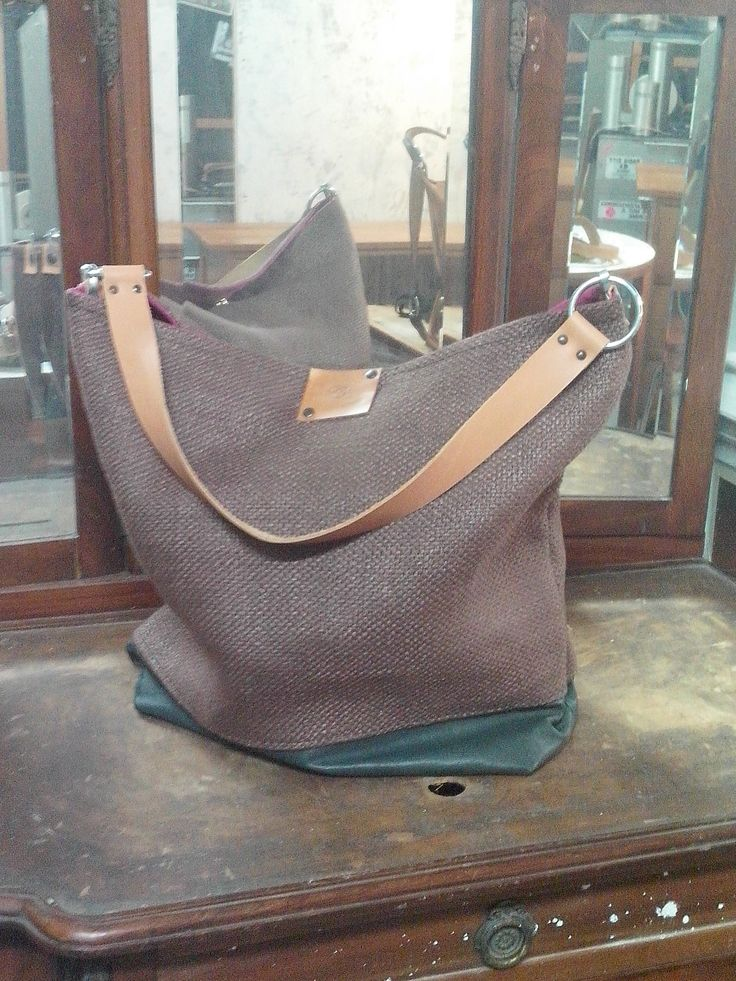 Leather and sofas fabric bag for FUST collection