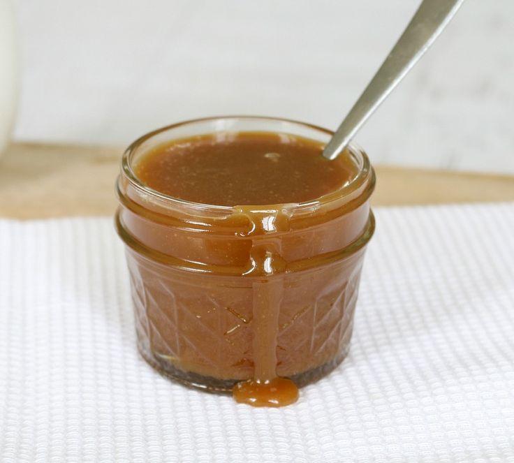 Salted Caramel Sauce...THIS RECIPE CALLS FOR BROWN SUGAR..
