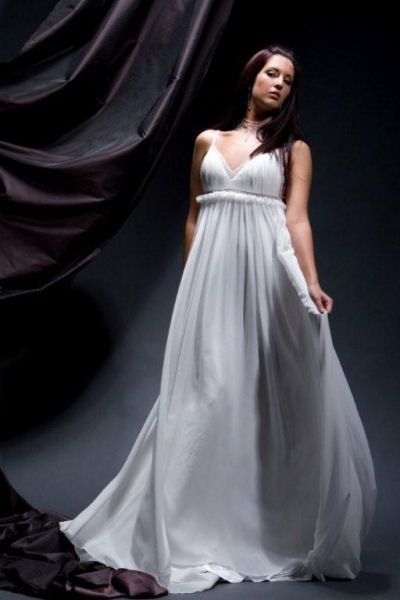 17 best images about greek goddess wedding dress on for Grecian goddess wedding dresses