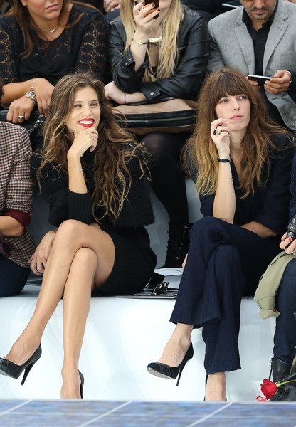 Maiwenn and Lou Doillon, incarnation of French elegance