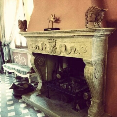 Oldstyle fireplace