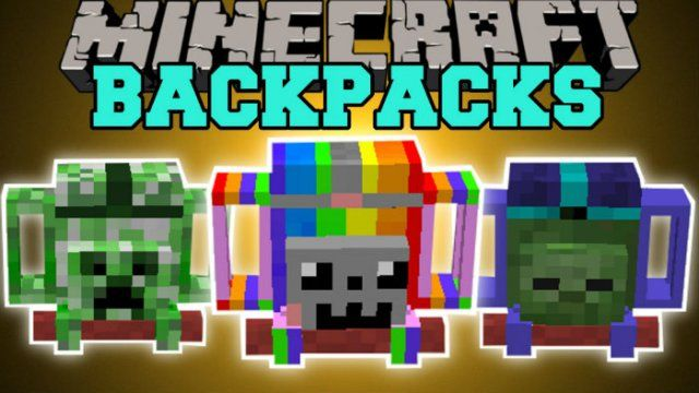 Adventure Backpack Mod for Minecraft 1.7.10