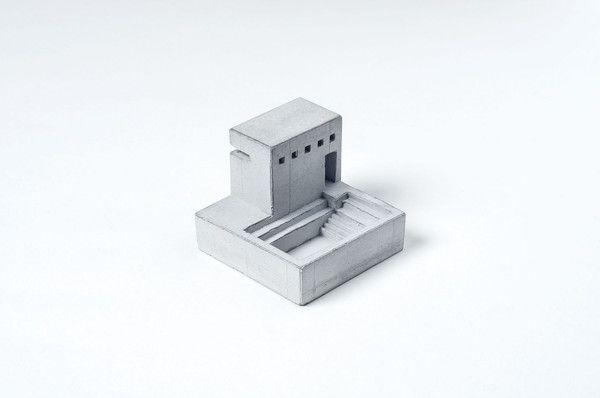 Miniature Concrete Home #5   Price : €31 Euro