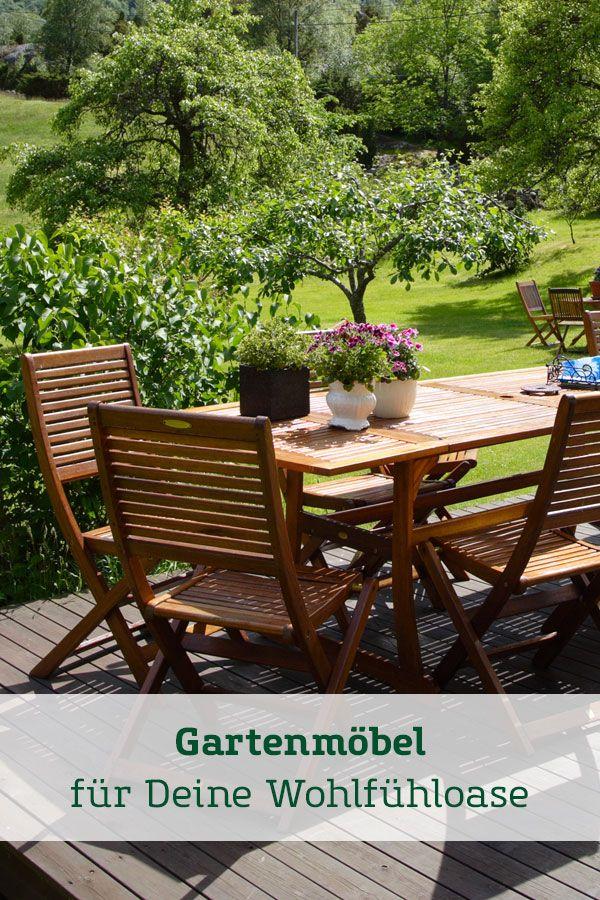 Gartenmobel Fur Deine Wohlfuhloase Gartenmobel Garten Hochwertige Gartenmobel