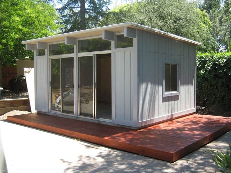 13 best art studio images on pinterest small houses for Backyard office kit