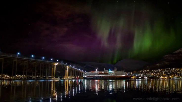 Северное сияние в Северной Норвегии #Norway #aurora