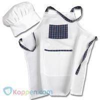 Koksschort met muts - Koop nu voor €2,75 bij Koppen.com Een kok heeft een koksschort aan, zodat zijn kleren niet vies worden. Ook heeft hij een muts op, zodat er geen haren in het eten vallen. De koksschort met muts is geschikt voor kinderen vanaf drie jaar. Leuk om te verkleden. - See more at: http://www.koppen.com/producten/product/koksschort-met-muts#sthash.0U1hwif5.dpuf
