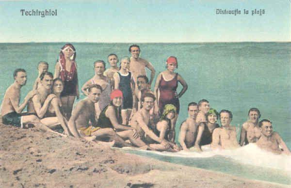 Techirghiol, Romania, old postcard, alte statiuni