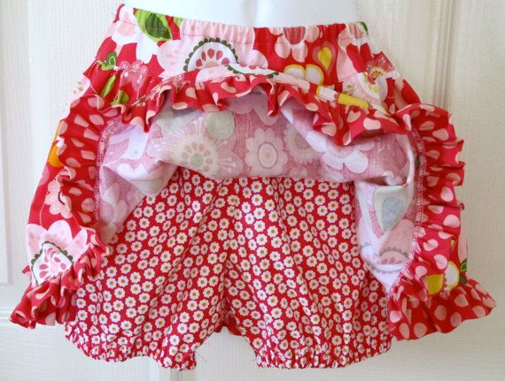 Twirl Skirt Pattern optional Built In Bloomers PDF by tiedyediva