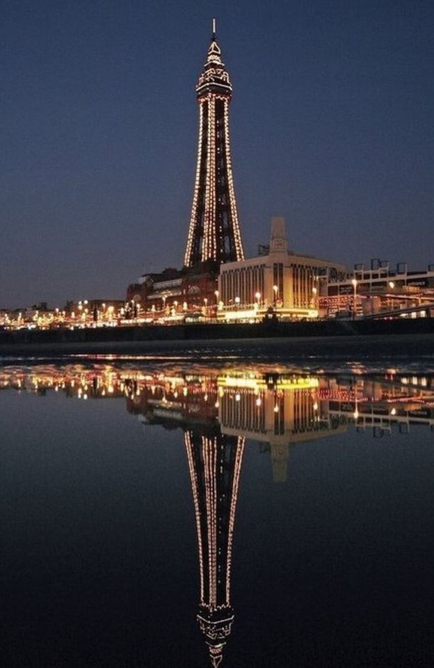 Blackpool Tower wins civil engineering heritage award