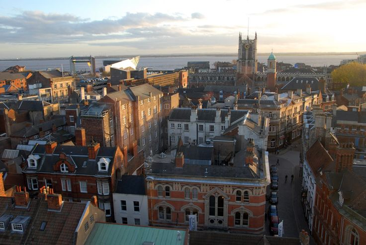 Kingston upon Hull, UK...where my third daughter was born!