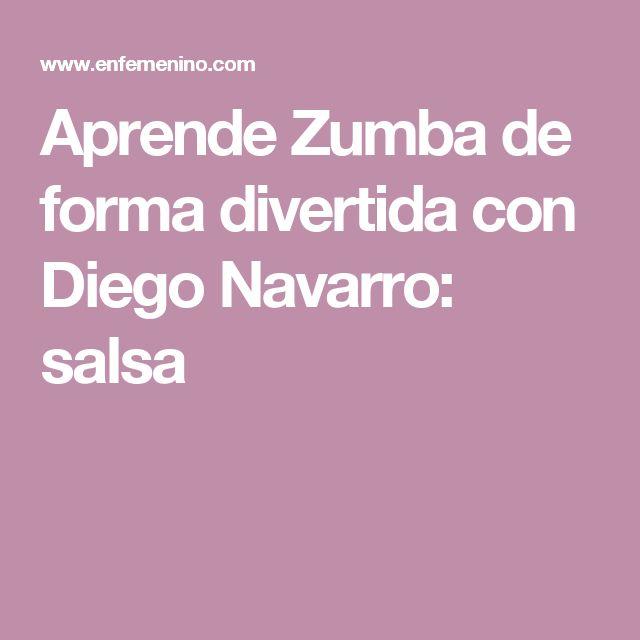 Aprende Zumba de forma divertida con Diego Navarro: salsa