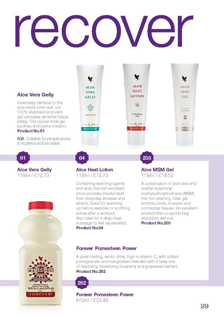 Aloe Vera Gelly - £12.73 Aloe Heat Lotion - £12.73 Aloe MSM Gel - £19.52