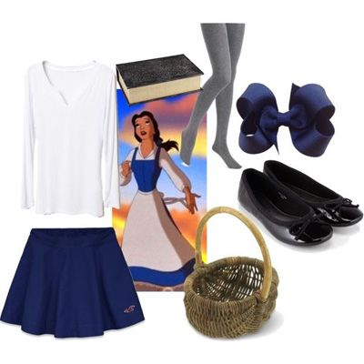 How to dress like a Disney princess ~ Belle