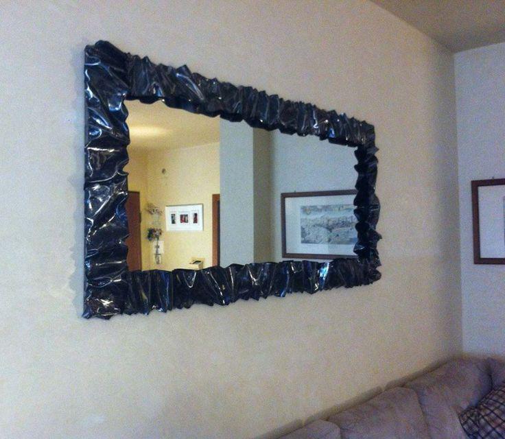 CADRE Fer Forgè Miroir Photo . avec ou sans LED . Créations personnalisées . 850 #Moderne