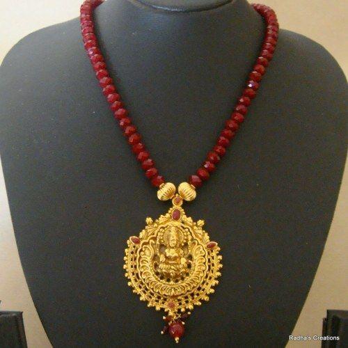 Laxmi necklace - 211(temple jewellery)