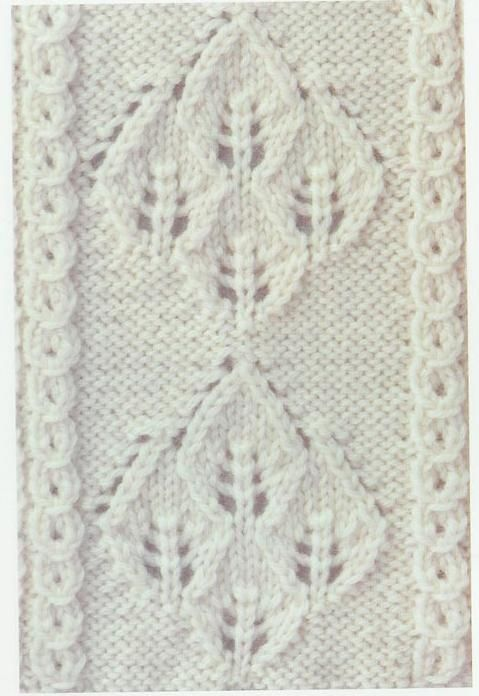 Lace Knitting Stitch #67
