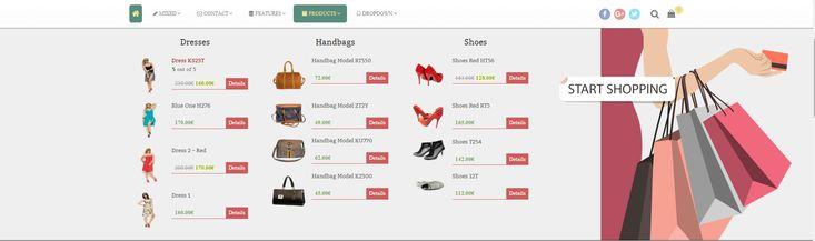 MDF Megamenu - Bootstrap Responsive WordPress Megamenu by themeflection