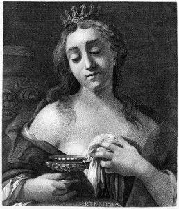 Artemisia I of Caria - 5th Century BC Queen of Halicarnassus & Naval Commander for Persia.