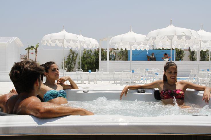 La zona Relax del Lido San Lorenzo Plus - idromassaggio - www.lidosanlorenzoplus.it