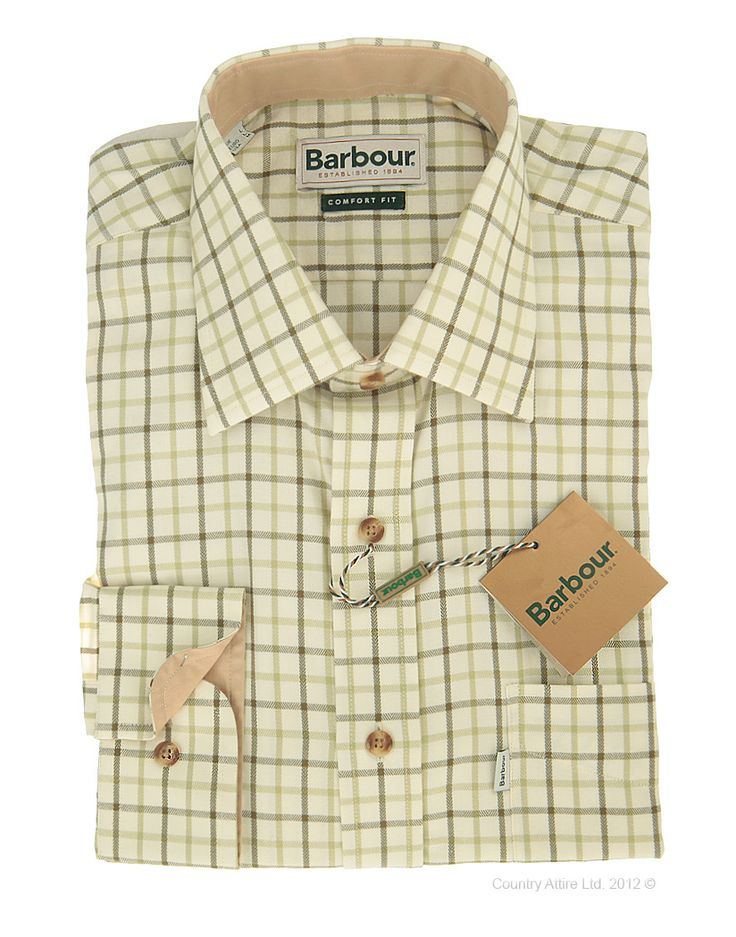 Barbour Men's Long Sleeved Tattersall Shirt
