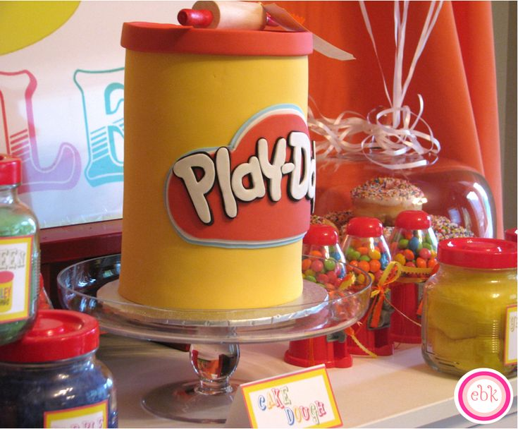 Play Doh Birthday Party Ideas | Photo 9 of 34 | Catch My Party