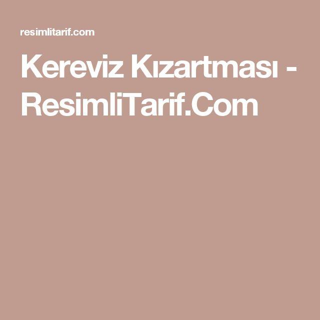 Kereviz Kızartması - ResimliTarif.Com