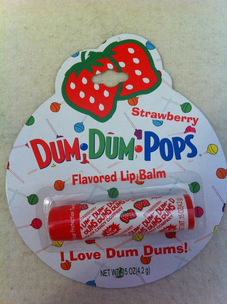NEW Dum-Dum Pops Flavored Lip Balm - Cute Packaging! www.TheConsignmentBag.com We Ship Worldwide!