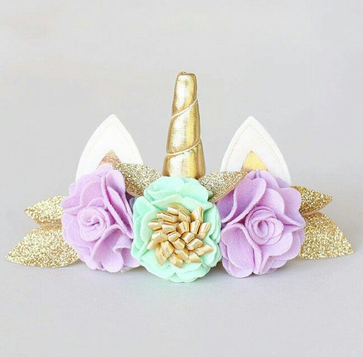 Unicorn headband from @shopsplendere