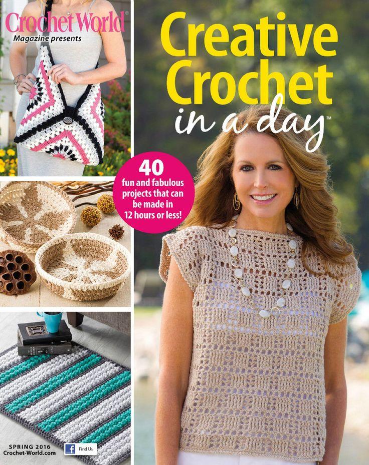 524 Best Crochet Book Images On Pinterest Crochet Books Books And