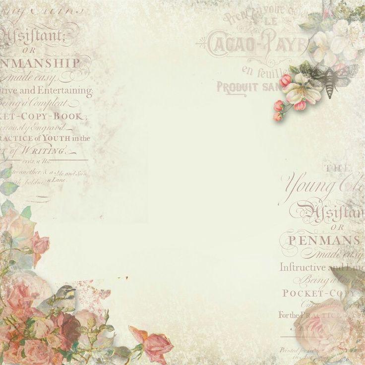 Floral con letras shabby chic