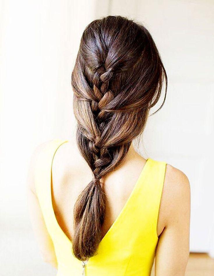 Coiffure facile pour cheveux mi-longs