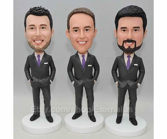 Groomsmen gift  groomsmen gift ideas  by CustomBobblehadsEtsy